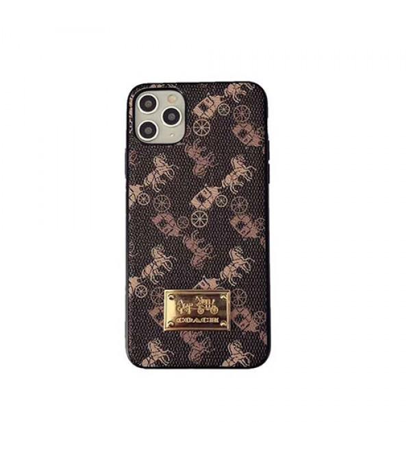 Coach/コーチiphonex/8/7 plus/se2ケース大人気ブランド iphone11/11pro maxケース かわいい個性潮 iphone x/xr/xs/xs maxケース ファッション