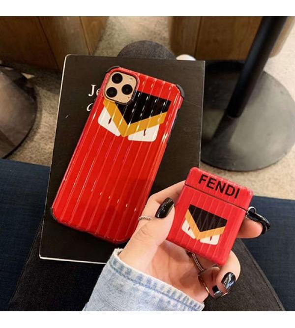 Fendi/フェンデイ男女兼用人気ブランドiphone11/11pro maxケースiphonex/8/7 plus/se2ケース ビジネス ストラップ付きins風 ケース かわいいレディース アイフォンiphone xs/11/8 plusケース おまけつき