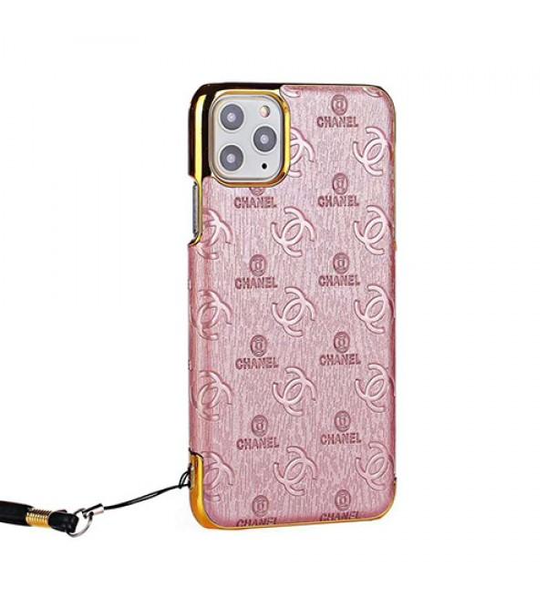 iphone12Chanel/シャネルiphone xr/xs max女性向け iphone xr/xs maxケースiphone 7/8 plus/se2ケース ビジネス ストラップ付きシンプルジャケットモノグラム iphone11/11pro maxケース ブランド