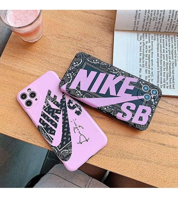 Nike/ナイキiphone 12ケースブランド iphone11/11pro maxケース かわいいペアお揃い アイフォン11ケース iphone xs/x/8/7 plus/se2ケース男女兼用人気ブランド個性潮 iphone x/xr/xs/xs maxケース ファッション