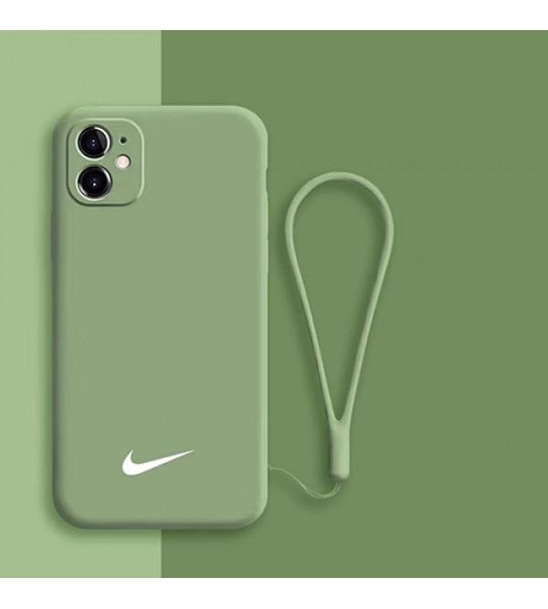 ナイキ/NIKE女性向け iphone xr/xs maxケース男女兼用人気ブランドiphone 7/8 plus/se2ケースビジネス ストラップ付きレディース アイフォンiphone 11/11 pro /11 pro maxケース おまけつき