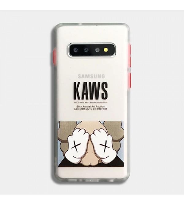 iphone 12 ケースKaws女性向け iphone xr/xs maxケース男女兼用人気ブランドHUAWEI MATE 30/30 PROケースファッション セレブ愛用 iphone  7/8 plus/se2ケース 激安ins風  Galaxy s10/s20+/s20 ultraケースケース かわいい
