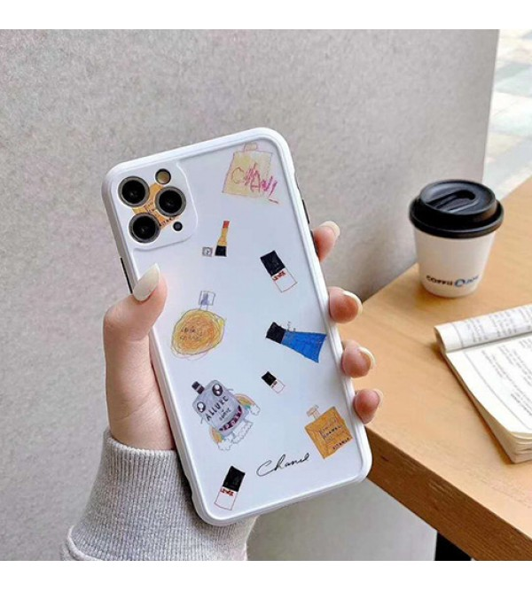 Chanel/シャネルiphone 12 ケース女性向け iphone xr/xs maxケースビジネス ストラップ付きレディース アイフォンiphone 7/8 plus/se2ケース おまけつきモノグラム iphone11/11pro maxケース ブランド