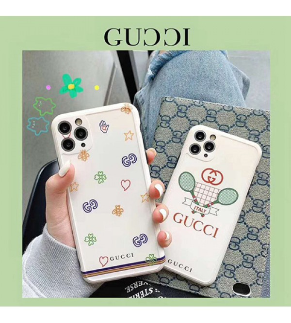 Gucci/グッチiphone 12 ケースブランド iphone11/11pro maxケース かわいいペアお揃い アイフォン11ケース iphone 8/7 plus/se2ケース個性潮 iphone x/xr/xs/xs maxケース ファッションins風ケース かわいい