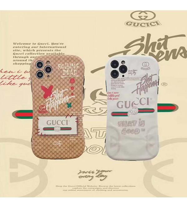 GUCCI/グッチiphone12ケースアイフォンiphonex/8/7 plus/se2ケース ファッション経典 メンズiphone x/xr/xs/xs maxケースブランドモノグラム iphone11/11pro maxケース ブランド