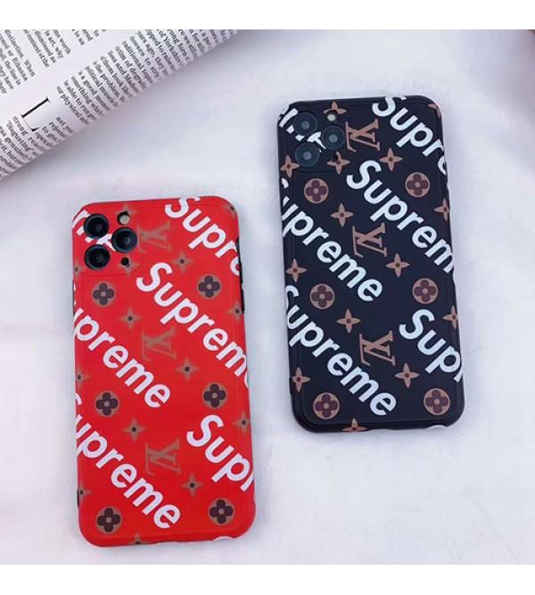 Supreme/シュプリームiphone12ケース男女兼用人気ブランド iphone 7/8 plus/se2ケースファッション セレブ愛用lv/ルイ·ヴィトン iphone11/11pro maxケース 激安シンプル iphone x/xr/xs/xs maxケース ジャケットモノグラムブランド