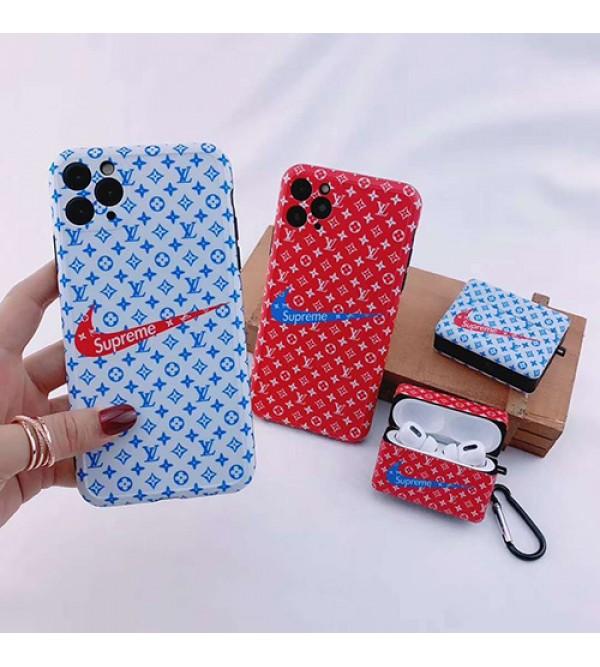 lv/ルイ·ヴィトンiPhone  7/8 plus/se2ケース ビジネス ストラップ付き個性潮Supreme/シュプリーム iphone x/xr/xs/xs maxケース ファッションジャケット型 2020 iphone12ケース 高級 人気モノグラムNike/ナイキ iphone11/11pro maxケース ブランド