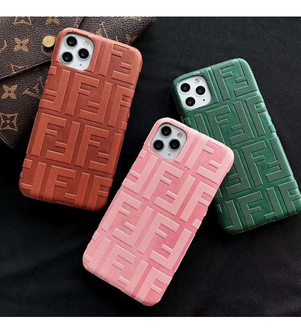 Fendi/フェンデイiphone 12ケースブランド iphone11/11pro maxケース かわいいペアお揃い アイフォン11ケース iphone x/8/7 plus/se2ケース個性潮 iphone x/xr/xs/xs maxケース ファッション大人気