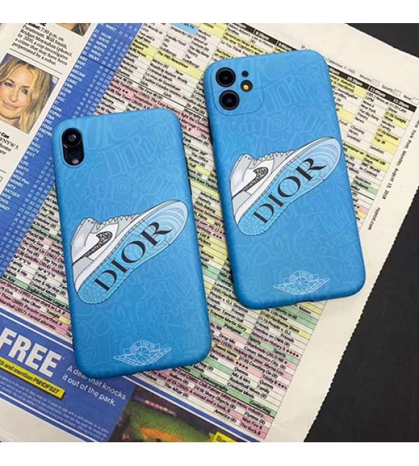 Dior ディオール男女兼用人気ブランドiphone 12ケースアイフォンiphonex/8/7 plus/se2ケース Nike/ナイキファッション経典 メンズジャケット型 2020 iphone 11/11pro/11 pro maxケース 高級 人気アイフォン12カバー レディース バッグ型 ブランド
