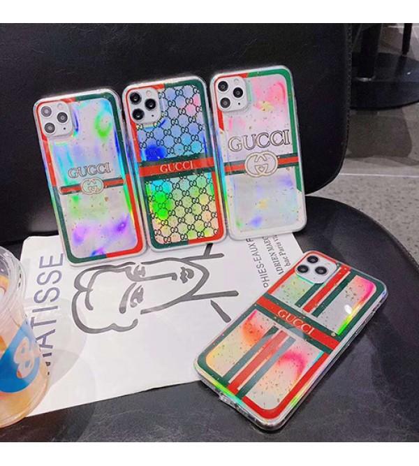 Gucci/グッチ女性向け iphone xr/xs maxケース男女兼用人気ブランドiphone 12ケースiphone 7/8 plus/se2ケース ビジネス ストラップ付きファッション セレブ愛用 iphone11/11pro maxケース