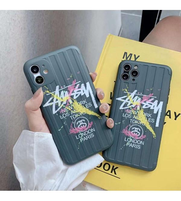 Stussy/ステューシーブランド  2020 iphone12ケース かわいい男女兼用人気ブランドiphone x/xs/xs max/xrケース手帳型ケースジャケット型 iphone11/11pro maxケース高級 人気
