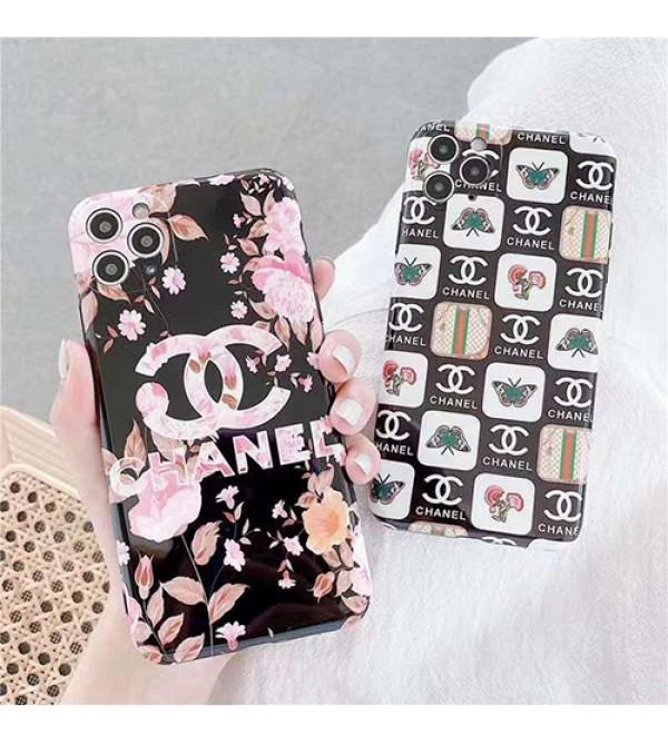 Chanel/シャネルブランド iphone11/11pro maxケース かわいい個性潮 iphone x/xr/xs/xs maxケース ファッションins風 iphone12ケースケース かわいいレディース アイフォンiphone xs/11/8 plus/se2ケース おまけつき