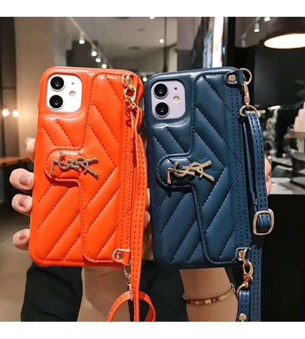 YSL/イブサンローランブランド iphone 12ケース かわいい男女兼用人気ブランドhuawei mate 30 proケースシンプル iphone 7/8/se2ケース ジャケットアイフォン12カバー レディース バッグ型 ブランド