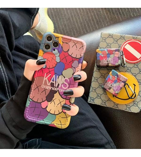kawsファッション セレブ愛用 iphone 7/8/se2ケース 激安個性潮huawei mate 30ケース ファッションメンズ iphone11/11pro maxケース 安いジャケット型 2020 iphone12ケース 高級 人気