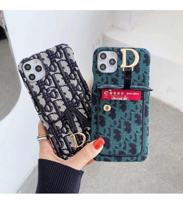 Dior ディオールブランド iphone12/12pro maxケース かわいいiphone 7/8/se2ケース ビジネス ストラップ付きiphone 11/x/8/7スマホケース ブランド LINEで簡単にご注文可シンプルiphone x/xr/xs/xs maxケース ジャケット