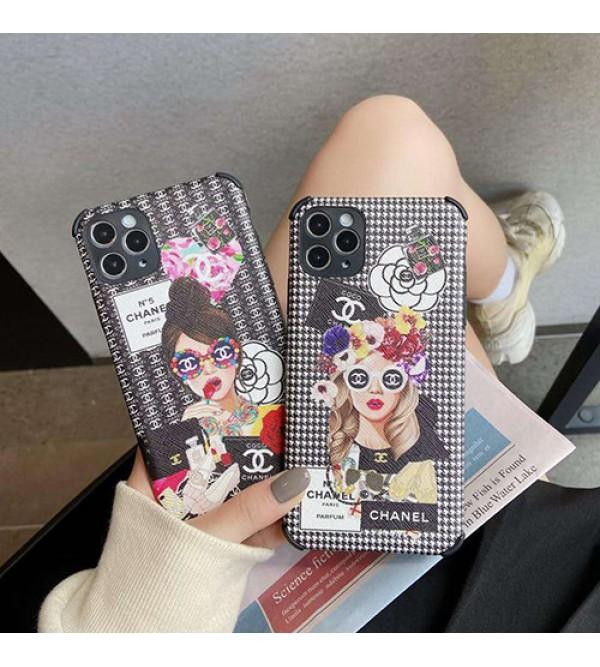 Chanel/シャネルブランド iphone11/11pro maxケース かわいい女性向け iphone xr/xs maxケースファッション セレブ愛用 iphone 7/8/se2ケース 激安ins風ケース かわいい