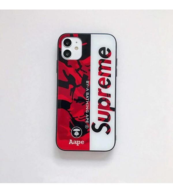 Supreme/シュプリームブランド iphone12 mini/12pro max/12 pro/12 maxケース かわいい iphone11/11pro maxケース ビジネス ストラップ付きアイフォン12カバー レディース バッグ型 ブランド