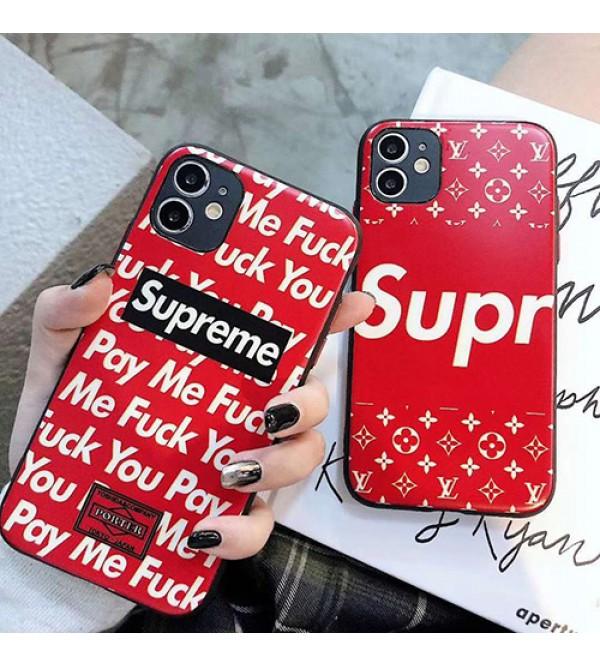 シュプリームブランド iphone12 mini/12/12 pro/12 pro maxケース かわいい女性向け iphone xr/xs maxケース男女兼用人気ブランド iphone11/11pro maxケースiphone 11/x/8/7スマホケース ブランド LINEで簡単にご注文可