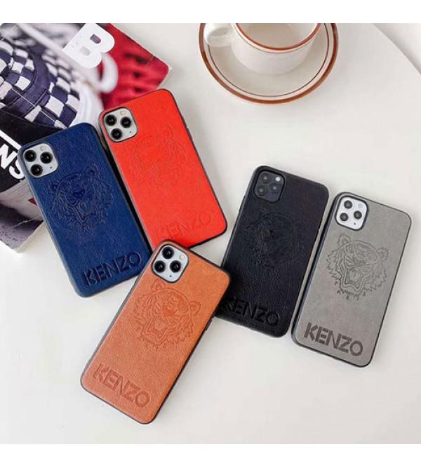 ケンゾーiphone 12/12 mini/12 pro/12 pro maxケース ビジネス ストラップ付き個性潮 iphone x/xr/xs/xs maxケース ファッション手帳型 Galaxy s20/s10+ケース iphone x/8/7 plusケース大人気