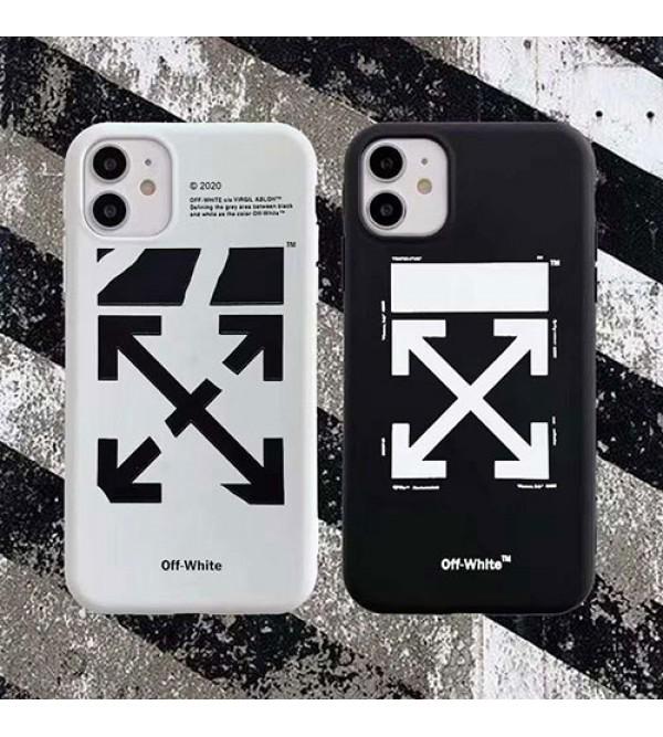 オフ-ホワイト女性向け iphone 12/12 pro/12 mini/12 pro maxケース男女兼用人気ブランド iphone xr/xs maxケースiphone 11/11 pro/11 pro maxケース ビジネス ストラップ付きiphone xr/xs max/11proケースブランド