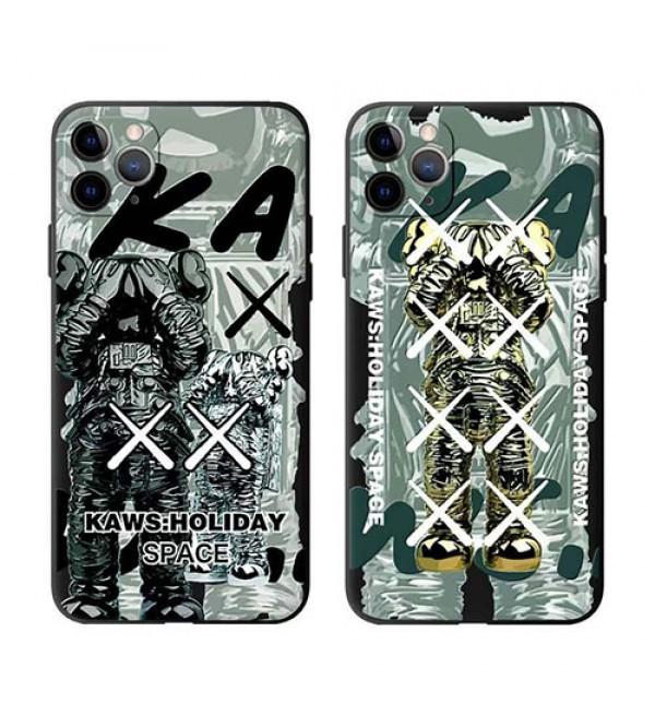 カウズiphone 12/12 mini/12 pro//12 pro maxケース ビジネス ストラップ付きiphone 11/x/8/7/se2スマホケース ブランド LINEで簡単にご注文可シンプルiphone x/xr/xs/xs maxケース ジャケット