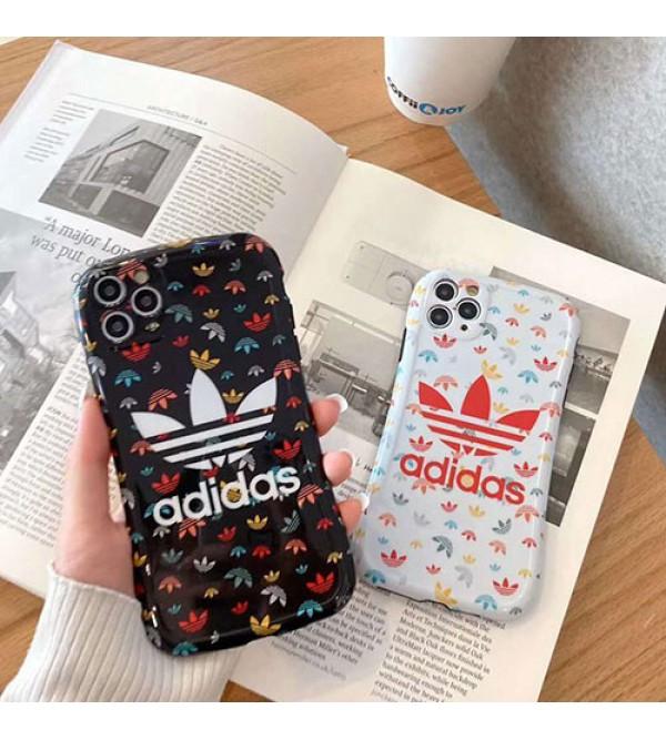 アディダスiphone 12/12 mini/12 pro/12 pro maxペアお揃い アイフォン11ケース iphone xs/x/8/7ケース女性向け iphone xr/xs maxケースアイフォンiphonex/8/7 plusケース ファッション経典 メンズジャケット型 2020 iphone12ケース 高級 人気