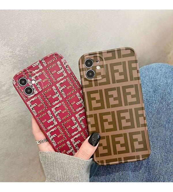 フェンデイペアお揃い アイフォン12/12 mini/12 pro/12 pro maxケース iphone 11/xs/x/8/7ケースアイフォンiphone x/8/7 plusケース ファッション経典 メンズメンズ iphone11/11pro maxケース 安いiphone x/8/7/se2ケース大人気