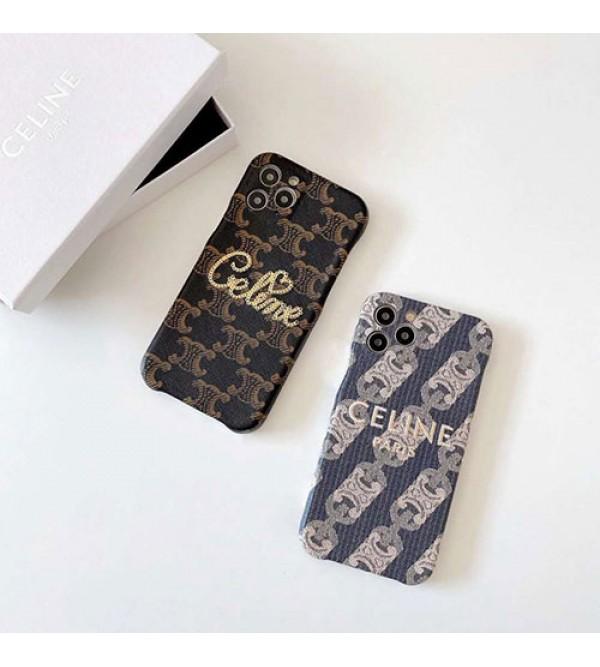 セリーヌブランド iphone12/12 pro max/12 mini/12 proケース かわいい女性向けiphone11/11pro maxケースiphone xr/xs max/11proケースブランドモノグラムブランド