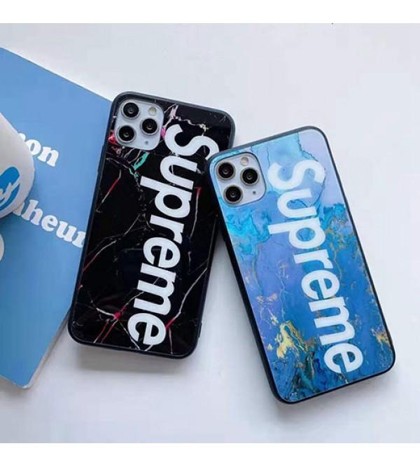 シュプリームブランド iphone12/12pro max/12 pro/12 miniケース かわいい女性向け iphone xr/xs maxケースレディース iphone xs/11/8 plusケース おまけつきモノグラム iphone11/11pro maxケース ブランド