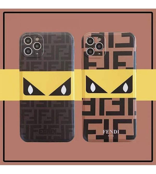フェンデイ女性向け iphone 12/12 mini/12pro/12Pro maxケースファッション セレブ愛用 iphone11/11pro maxケース 激安ins風iphone 7/8/se2ケースケース かわいいメンズ iphone x/xr/xs/xs maxケース 安い