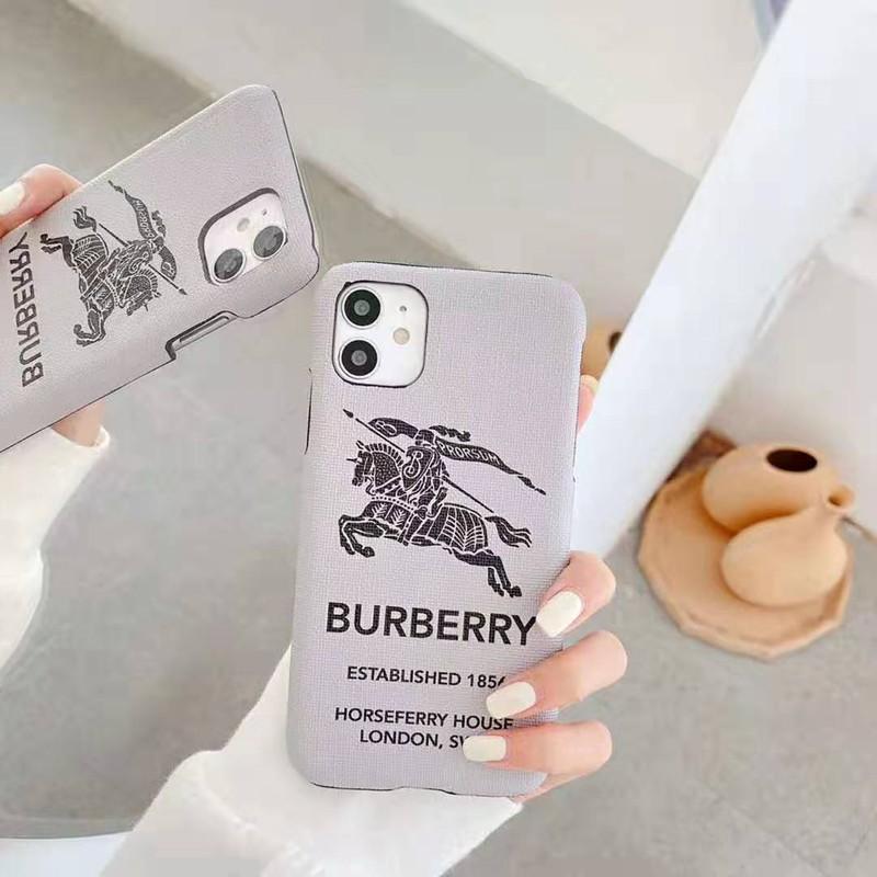 バーバリーブランド iphone12/12pro max/12 pro/12 miniケース かわいい女性向け iphone xr/xs maxケースレディース iphone xs/11/8 plusケース おまけつきモノグラム iphone11/11pro maxケース ブランド