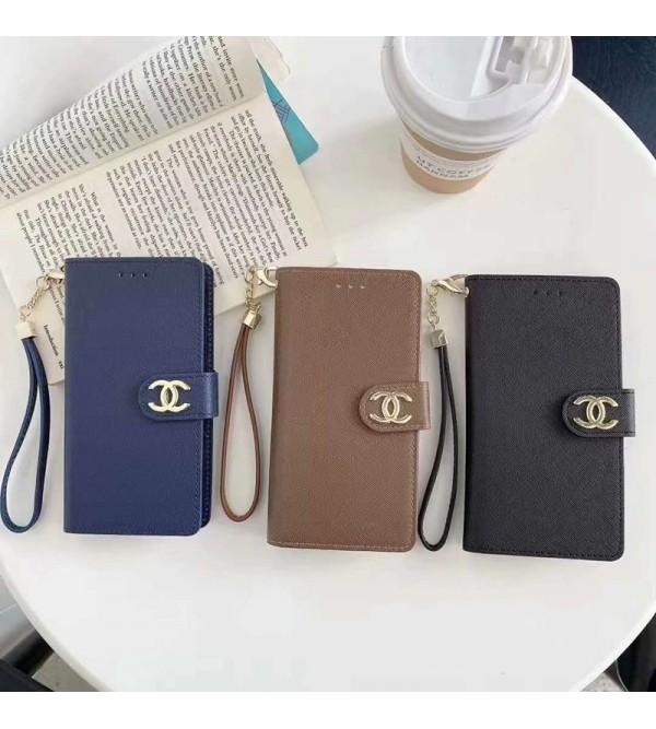Chanel シャネル ブランド 手帳型 iphone13/12s/12/12 pro/12 mini/12 pro max/xr/xs max/11proケース カード入れ Galaxy s21/s20/s21+/s21 ultraケース ブランド HUAWEI Mate 30 Pro 5Gケース 大人気 iphone x/8/7 plusケース 男女兼用