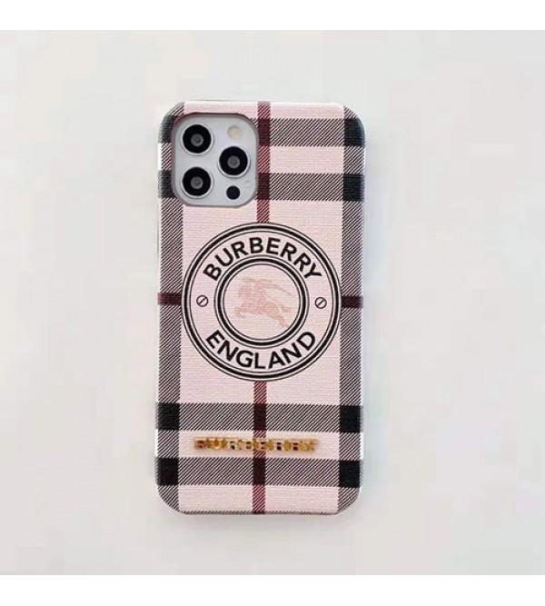 バーバリーブランド iphone11/11pro maxケース かわいいシンプル iphone12/12 pro/12 pro max/12 miniケース ins風  iphone8/7/8 plusケース 高級 人気