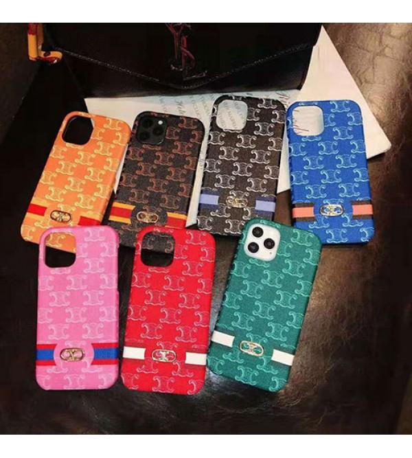 セリーヌ ブランドiphone12/12 mini/12 pro maxファッション セレブ愛用 iphone11/11pro maxケース 激安iphonex/8/7 plusケース ファッション経典 メンズ個性潮 iphone x/xr/xs/xs maxケース ブランド