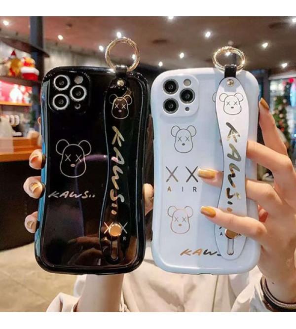 カウズブランド iphone12/12pro max/12 pro/12 miniケース かわいい女性向け iphone xr/xs maxケースレディース iphone xs/11/8 plusケース おまけつきモノグラム iphone11/11pro maxケース ブランド