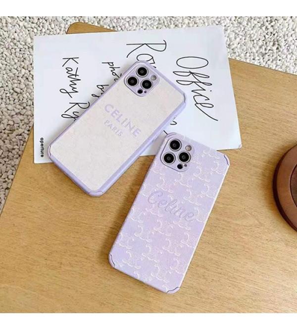 CELINE セリーヌ ブランド Iphone13/12s/12/13 pro/13 pro maxケース 可愛い 四角保護  ジャケット型 モノグラム 全面保護 シンプル メンズ レディース
