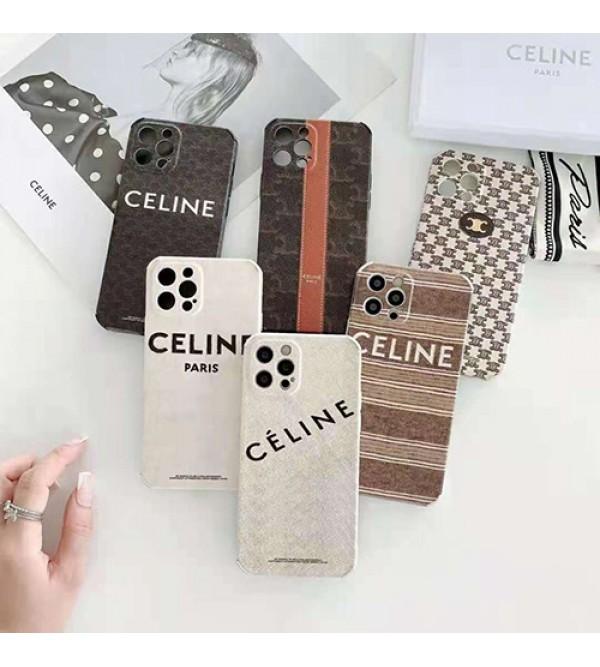CELINE ブランド iphone 13/12s/13 mini/13 pro maxケース INS風 ジャケット型 セリーヌ ハイブランド シリコン製 激安 高級感 モノグラム 四角保護 コピー アイフォン13/12 pro/12 pro max/se2カバーアイドル愛用 メンズ レディース