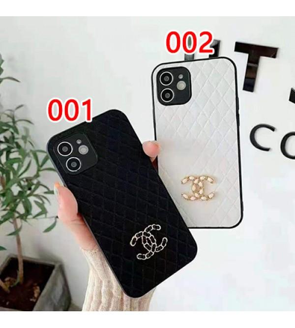 シャネル/Chanel ブランド iphone 13 pro/12s/12 pro/13 pro maxケース 可愛い レザー 個性 ジャケット型 簡約 アイフォン13/12/11/x/xr/xsカバー 黒白 男女兼用