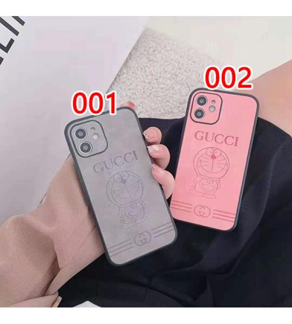 Gucci x Doraemon コラボ ハイブランド iphone13/12s/13 pro max/12 miniケース おしゃれ GGモノグラム グッチ ドラえもん シンプル TPU 全面保護 アイフォン12 pro max/11/se2/x/xs/xr/8/7カバー  メンズ レデイーズ