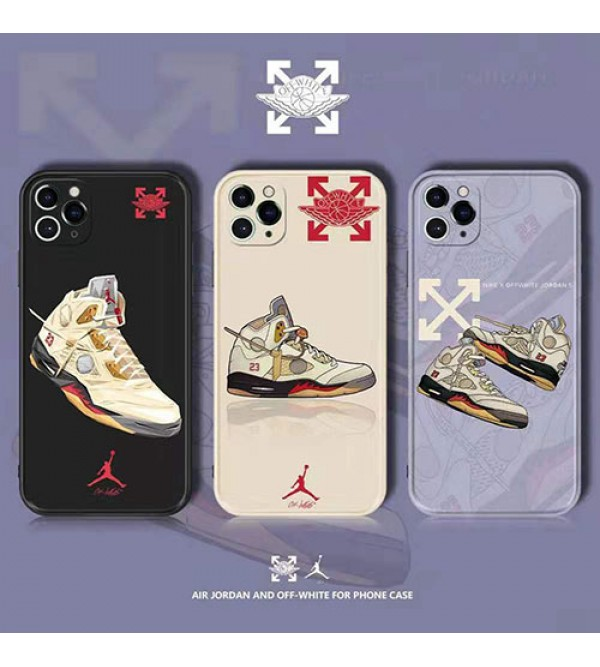 オフ-ホワイト 男女兼用人気ブランドiphone 12/12 pro/12 mini/12 pro maxケース ビジネス ストラップ付き個性潮 iphone x/xr/xs/xs maxケース ファッションins風iphone 7/8/se2ケース 高級 人気