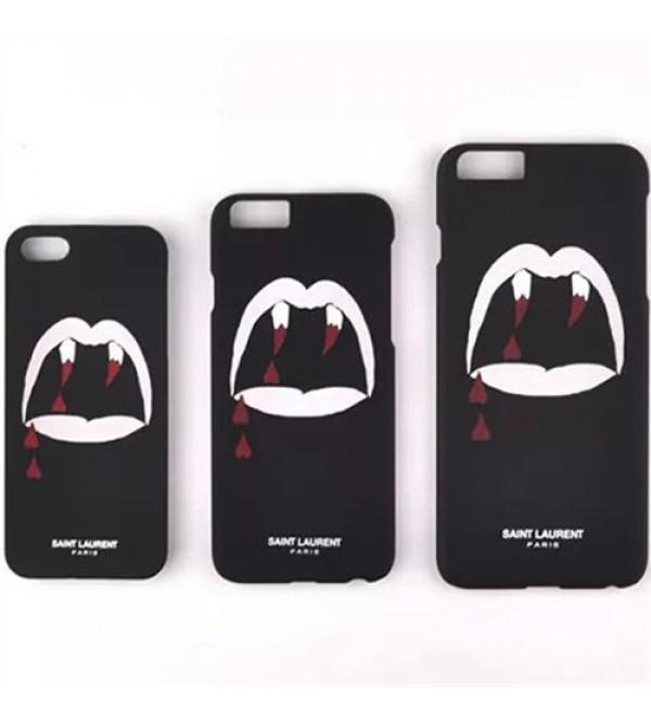 おしゃれ iPhone8/8 plusスマホケース イブサンローラン iPhone7 plusケース ジャケット ピンク iPhone6/6s plus YSL 人気商品 ブラック iPhone7/6/6s ペア経典的