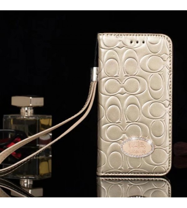 コーチiphoneXケース iPhone8/7plus 手帳型ケース coach アイフォン6s/6splus ケース 人気ケース
