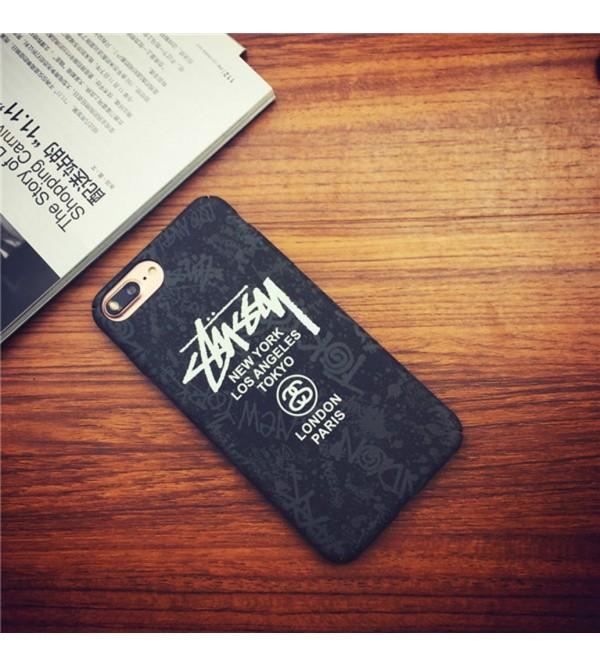 Stussy iphone 12ケースアイフォン7プラスカバー ジャケット iPhone6/6sケース Galaxy S8/S8edgeブランドカバー ブランド アイフォン7 男女兼用 iPhone6/6s ステューシー iPhone7 plus