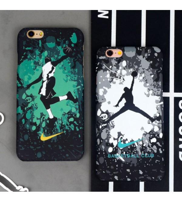 iphone 12 ケーススポーツ iPhone7 plusケース Jordan ブランド アイフォン8/8 plusカバー カップル iPhone7/6/6s ジョーダン 経典的 バスケットボール 彼氏