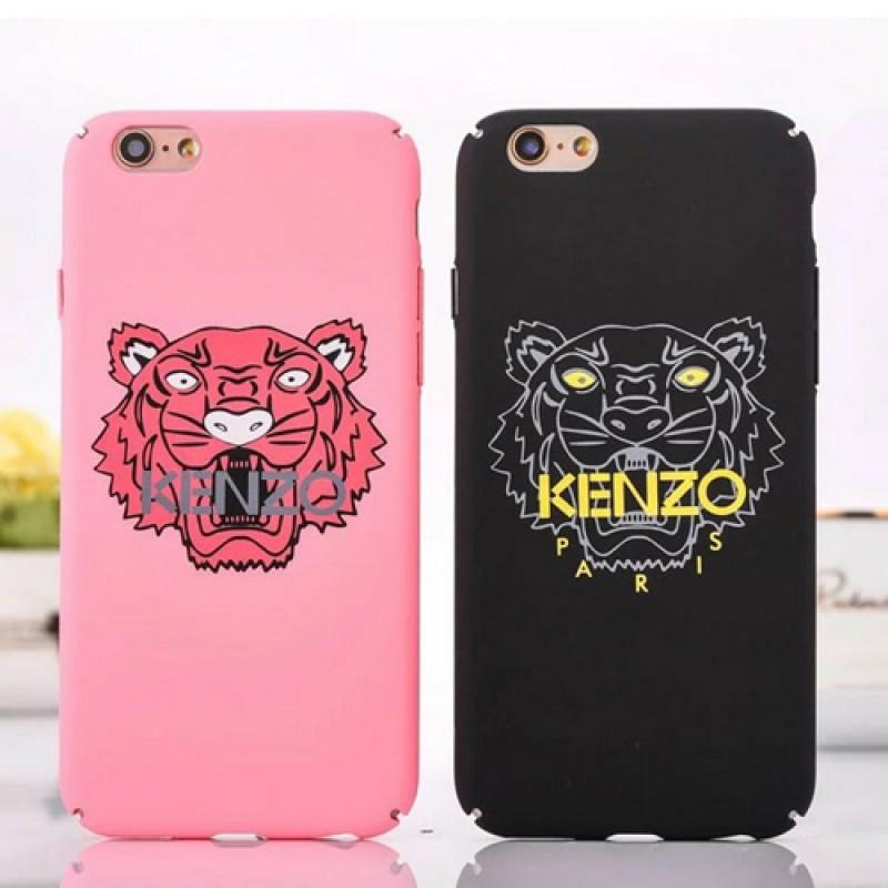 iphone 12ケースケンぞ iPhone7 plusケース タイガー iPhone8/8 plusカバー KENZO ブランド iPhone7ケース カップル かっこいい アイフォン6/6s 虎柄