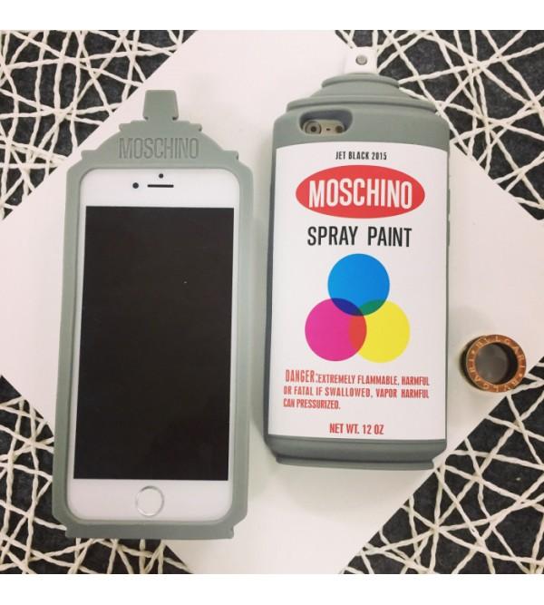 iphone 12 ケースモスキーノ 個性 iPhone8/7 plusカバー ブランド moschino アイフォン7ケース シリコン かわいい 芸能人愛用 iPhone6/6s plusカバー モスキーノ