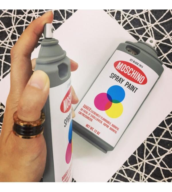モスキーノ 個性 iPhone8/7 plusカバー ブランド moschino アイフォン7ケース シリコン かわいい 芸能人愛用 iPhone6/6s plusカバー モスキーノ
