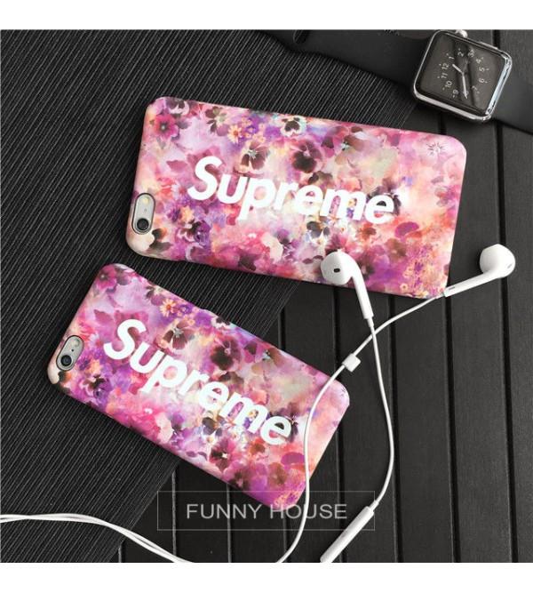 iPhone8/8 plusケース シュプリーム ファッション Supreme アイフォン8カバー ペア iPhone6/6s plusケース カッコイイ シュプリーム iPhone7/7 plusカバー 学生向け