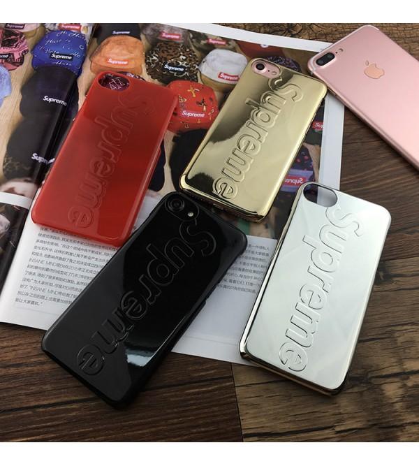 シュプリーム iphone8カバー ブランド ジャケット アイフォン7 plus Supreme ペア iphone7/6/6sケース カッコイイ ファッション品 ブランド シュプリーム