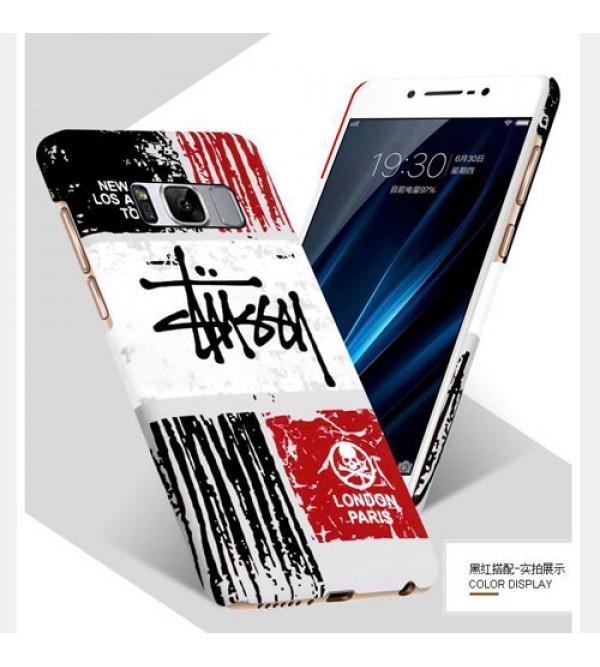 iphone 12 ケース若者向け ステューシー Galaxy S8 SC-02/SCV36ケースカバー ブランド ギャラクシー S8+ SC-03J/SCV35ジャケットカバー カッコイイ ギャラクシー エスse2/8ケース ペア ファッション